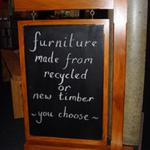 Taupo furniture makers sign